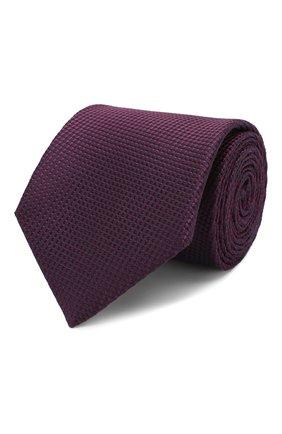 Мужской шелковый галстук BRIONI фиолетового цвета, арт. 062H00/P9487 | Фото 1