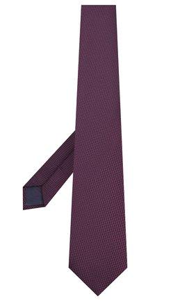 Мужской шелковый галстук BRIONI фиолетового цвета, арт. 062H00/P9487 | Фото 2