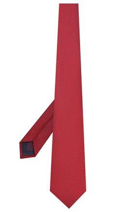 Мужской шелковый галстук BRIONI красного цвета, арт. 062H00/P9487 | Фото 2