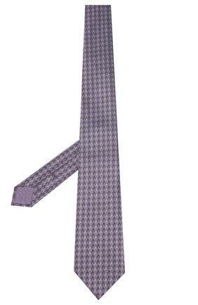 Мужской шелковый галстук BRIONI фиолетового цвета, арт. 062I00/P9480 | Фото 2