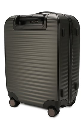Мужской дорожный чемодан ERMENEGILDO ZEGNA темно-серого цвета, арт. C1375X-LHP0C | Фото 2