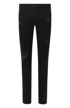 Мужские джинсы PHILIPP PLEIN черного цвета, арт. S20C MDT2018 PDE004N | Фото 1