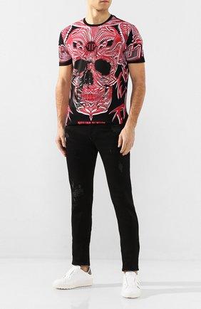 Мужские джинсы PHILIPP PLEIN черного цвета, арт. S20C MDT2018 PDE004N | Фото 2