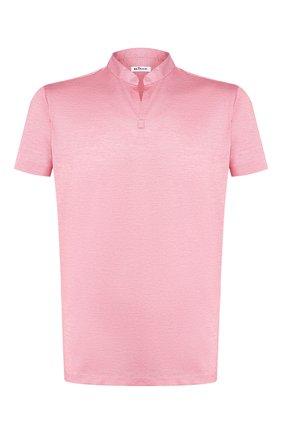 Мужская хлопковая футболка KITON красного цвета, арт. UMCCAPH07217 | Фото 1 (Мужское Кросс-КТ: Футболка-одежда; Рукава: Короткие; Материал внешний: Хлопок; Принт: Без принта; Длина (для топов): Стандартные; Стили: Кэжуэл)