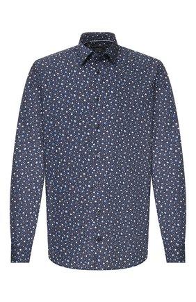 Мужская хлопковая сорочка VAN LAACK темно-синего цвета, арт. TET2-TF08/171603 | Фото 1