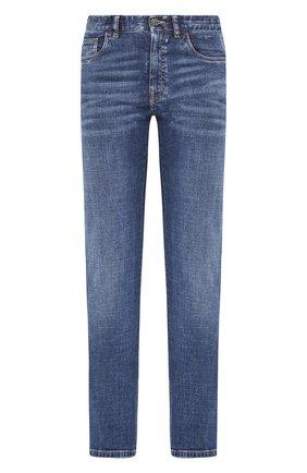 Мужские джинсы BRIONI синего цвета, арт. SPNJ0L/P9D39/STELVI0 | Фото 1