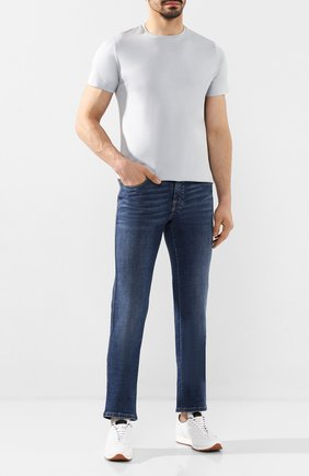 Мужские джинсы BRIONI синего цвета, арт. SPNJ0L/P9D39/STELVI0 | Фото 2