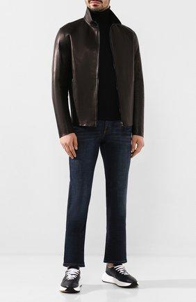 Мужские джинсы BRIONI темно-синего цвета, арт. SPNJ0L/P9D38/STELVI0 | Фото 2