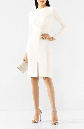 Женское шелковое платье TOM FORD белого цвета, арт. AB2767-FAX187 | Фото 2
