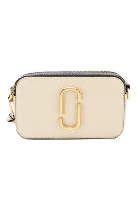 Женская сумка snapshot small MARC JACOBS (THE) белого цвета, арт. M0012007 | Фото 1