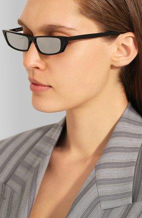 Мужские солнцезащитные очки ACNE STUDIOS черного цвета, арт. C30012/W | Фото 2