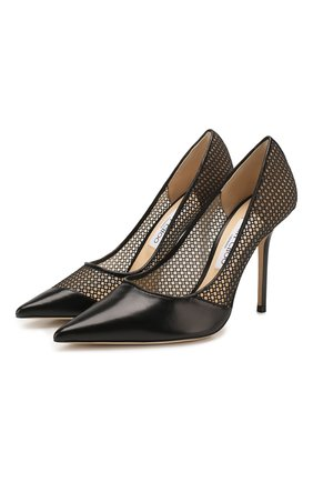 Комбинированные туфли Love 100 | Фото №1