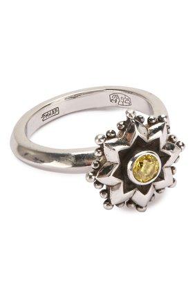 Женское кольцо engagement QUEENSBEE желтого цвета, арт. 101299/5,06   Фото 1