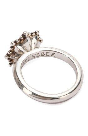 Женское кольцо engagement QUEENSBEE желтого цвета, арт. 101299/5,06   Фото 2