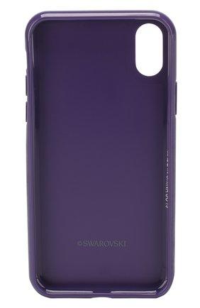 Мужской чехол для iphone x/xs SWAROVSKI фиолетового цвета, арт. 5449517 | Фото 2