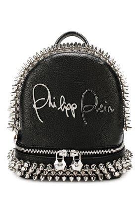 Женский рюкзак PHILIPP PLEIN черного цвета, арт. S20A WBA1146 PLE053N | Фото 1
