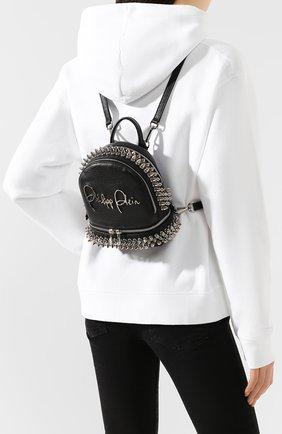 Женский рюкзак PHILIPP PLEIN черного цвета, арт. S20A WBA1146 PLE053N | Фото 2
