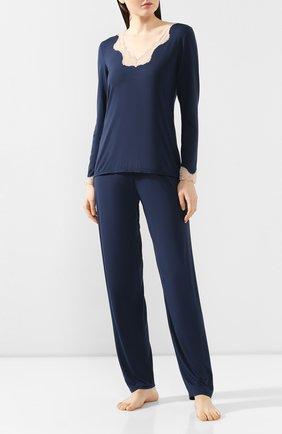 Женская пижама ANTIGEL синего цвета, арт. ENA2006-ENA0806 | Фото 1