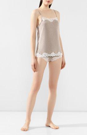 Женская пижама ANTIGEL бежевого цвета, арт. ENA5006-ENA0506 | Фото 1