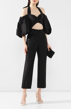 Женские шелковые брюки RASARIO черного цвета, арт. 0085W9_1 | Фото 2