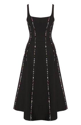 Женское шелковое платье RASARIO черного цвета, арт. 0009S20_1 | Фото 1
