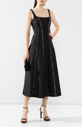 Женское шелковое платье RASARIO черного цвета, арт. 0009S20_1 | Фото 2
