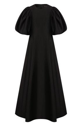Женское шелковое платье RASARIO черного цвета, арт. 0066S20_1 | Фото 1