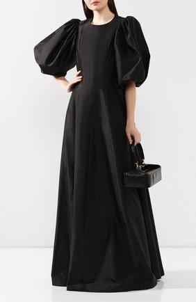 Женское шелковое платье RASARIO черного цвета, арт. 0066S20_1 | Фото 2