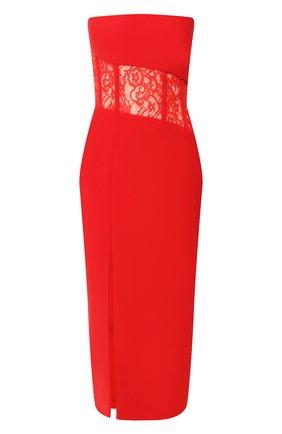 Женское платье-миди RASARIO красного цвета, арт. 0017S20_4 | Фото 1