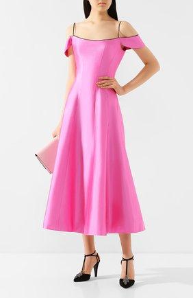 Женское шелковое платье RASARIO розового цвета, арт. 0045S20_3 | Фото 2