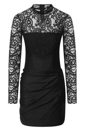 Женское мини-платье RASARIO черного цвета, арт. 0041S20_1 | Фото 1