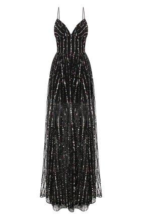 Женское платье с пайетками RASARIO черного цвета, арт. 0036S20_1 | Фото 1