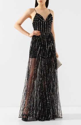 Женское платье с пайетками RASARIO черного цвета, арт. 0036S20_1 | Фото 2