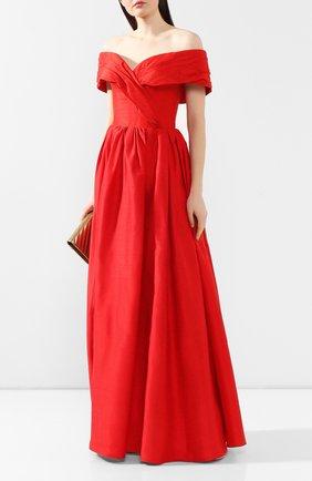 Женское платье-макси RASARIO красного цвета, арт. 0034S20_4 | Фото 2