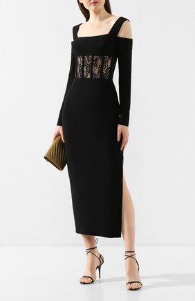 Женское платье-миди RASARIO черного цвета, арт. 0015S20_1 | Фото 2