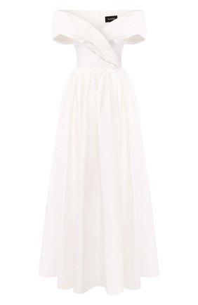 Женское платье-макси RASARIO белого цвета, арт. 0034S20_2 | Фото 1