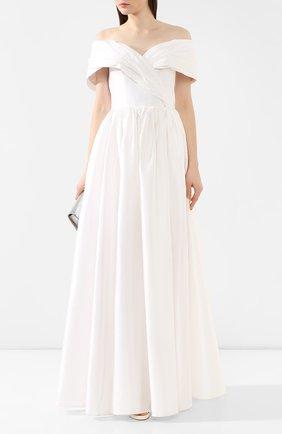 Женское платье-макси RASARIO белого цвета, арт. 0034S20_2 | Фото 2