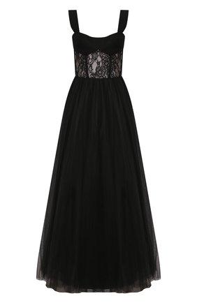 Женское платье-макси RASARIO черного цвета, арт. 0019S20_1 | Фото 1