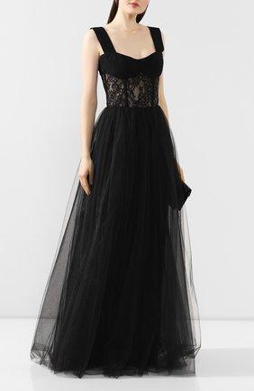Женское платье-макси RASARIO черного цвета, арт. 0019S20_1 | Фото 2