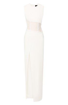 Женское платье-макси RASARIO белого цвета, арт. 0055S20_2 | Фото 1