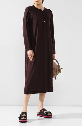 Женский костюм с юбкой RUBAN коричневого цвета, арт. RРS20 - 78.2.64.16 | Фото 1