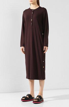 Женский костюм с юбкой RUBAN коричневого цвета, арт. RРS20 - 78.2.64.16 | Фото 2