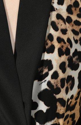 Шелковый халат | Фото №5