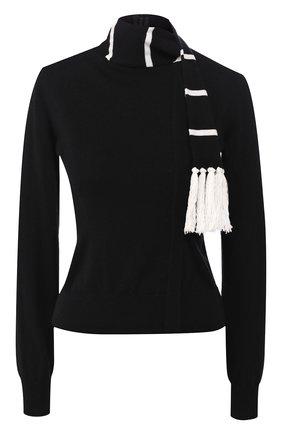 Женская кашемировый свитер DOLCE & GABBANA черного цвета, арт. FX611T/JAWTW | Фото 1