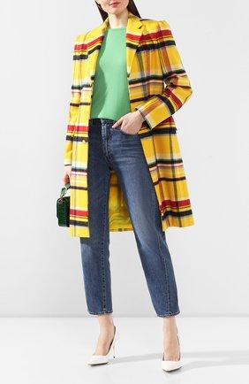 Женский кашемировый пуловер RALPH LAUREN зеленого цвета, арт. 290615194 | Фото 2