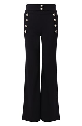 Женские шерстяные брюки CHLOÉ синего цвета, арт. CHC20SPA84062 | Фото 1
