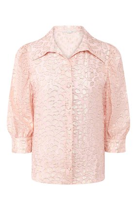 Женская шелковая блузка STELLA MCCARTNEY розового цвета, арт. 599773/SA020 | Фото 1