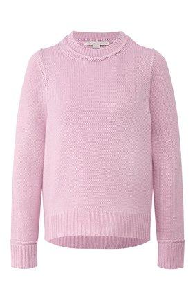 Женская шерстяной свитер STELLA MCCARTNEY сиреневого цвета, арт. 600080/S2168 | Фото 1