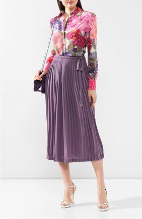 Шелковая юбка | Фото №2
