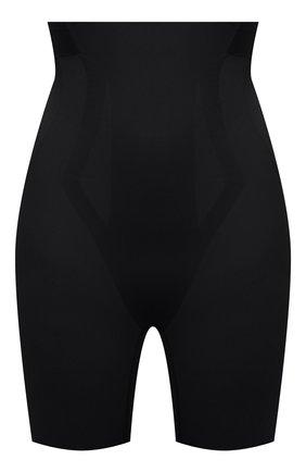 Женские утягивающие трусы-шорты с завышенной талией RITRATTI MILANO черного цвета, арт. 14627 | Фото 1